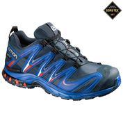 Mens XA Pro 3D GTX Shoes (Blue Yonde/Lava)