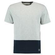 Mens Colorblock 2 T-Shirt (Silver Melange)
