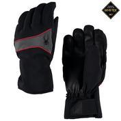 Mens Throwback GTX Ski Gloves (Black/Polar/Red)