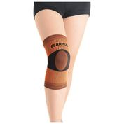 Bamboo Knee Support (Orange/Black)