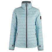 Womens Quilt Rain Jacket (Stratosphere)
