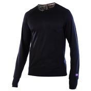 Mens Panther 170g Merino Long Sleeve Top (Black)