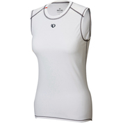 Womens Transfer Sleeveless Baselayer (White)