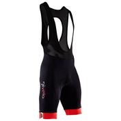 Mens Honister Bib Shorts (Black/Red)