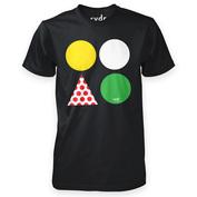 Mens Tour de RYDR T-Shirt (Black)