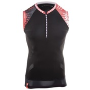 Mens Trail Running Singlet (Black)