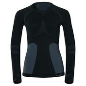 Womens Evolution Warm Long Sleeve Top (Black)