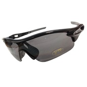 Warp Sunglasses (Black/Grey)