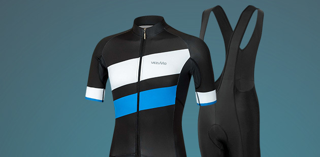 Road Cycle Clothing by Vezuvio